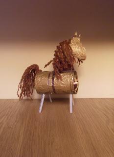 """поделка """"Лошадка"""""""
