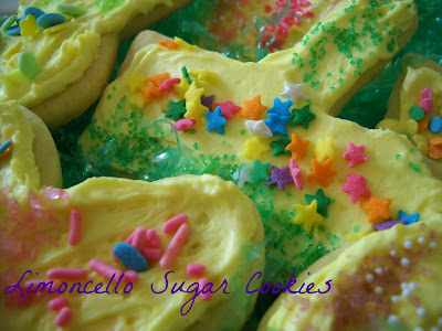 Recipe: Limoncello Easter sugar cookies