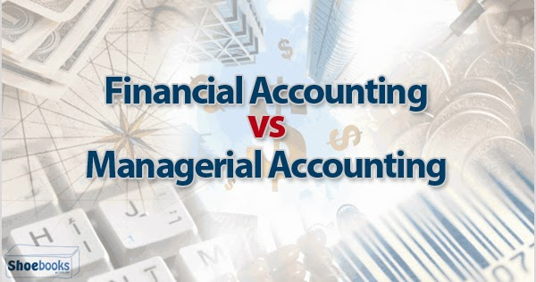How does financial accounting differ from managerial accounting?
