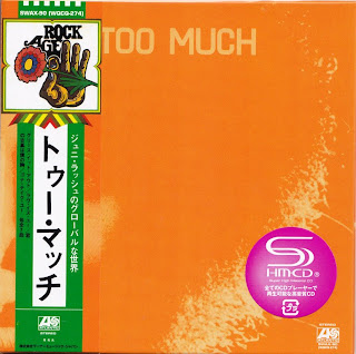 JUNI & TOO MUCH - TOO MUCH (ATLANTIC 1971) Jap mastering cardboard sleeve