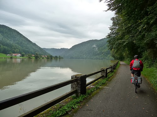 Ruta en bici del Danubio