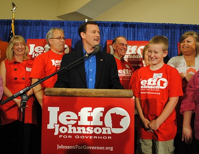 Jeff Johnson announcement, May 5, 2013.