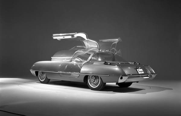 Daily Concept Cars: The 1962 Ford Cougar 406 concept