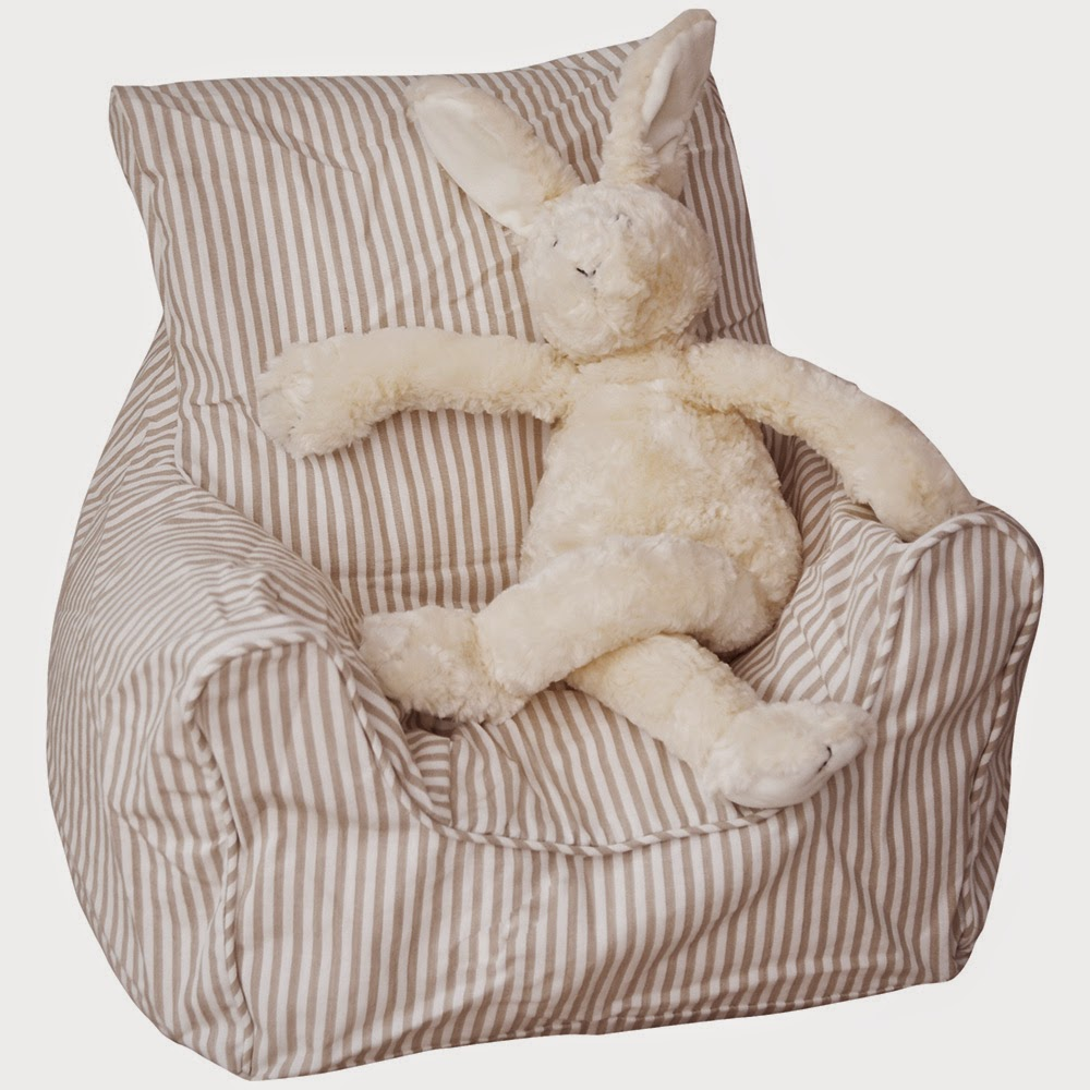 The wonderful cute stripe toddler bean bag chair picture for Cute toddler chairs