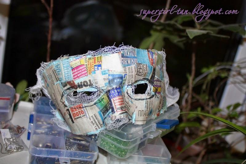 маска из папье-маше