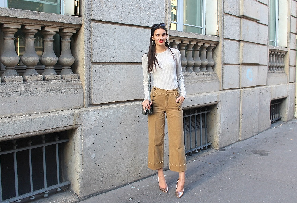 peexo fashion blogger at PFW