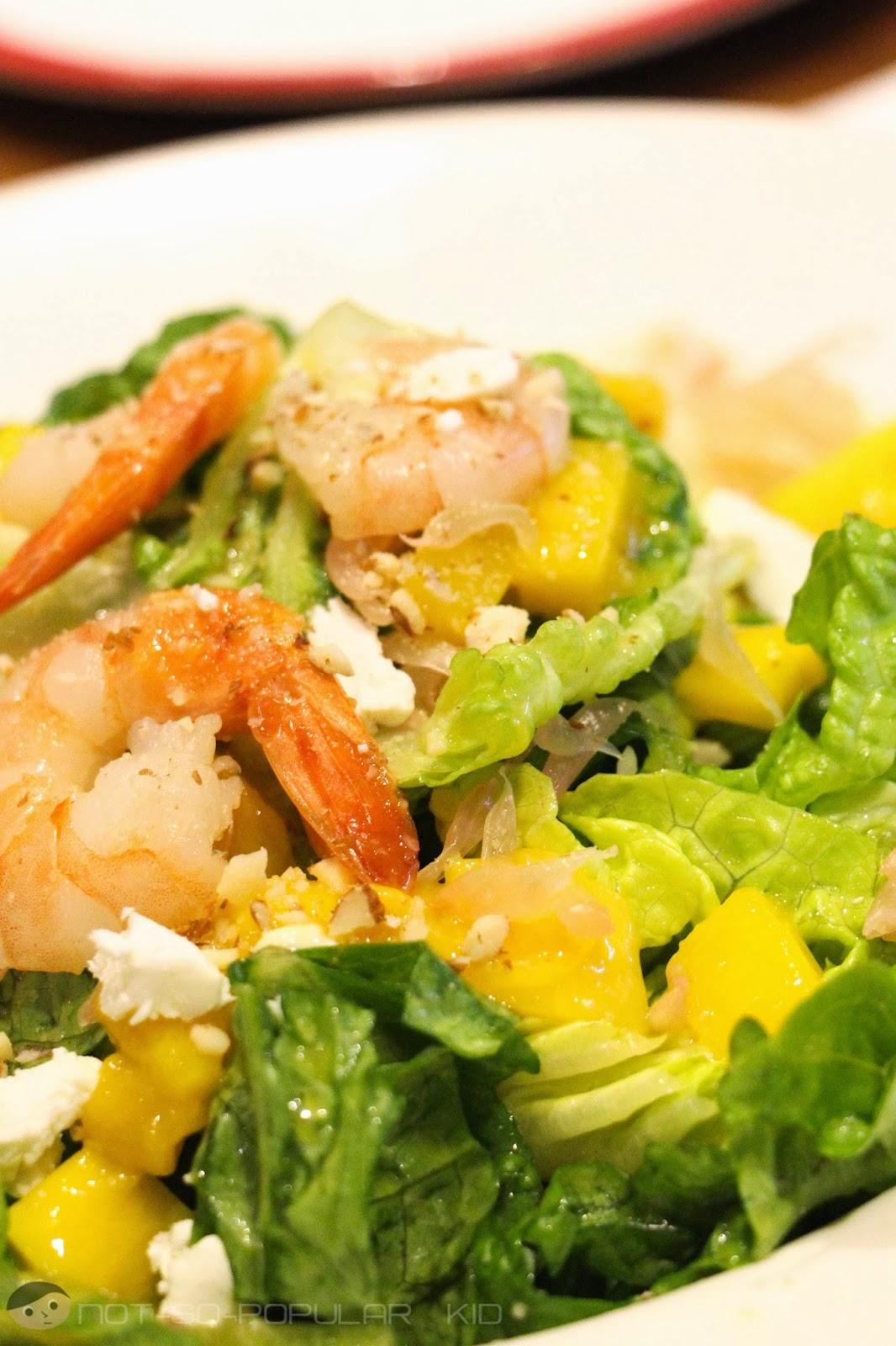 Citrus Shrimp Summer Salad of TGIF