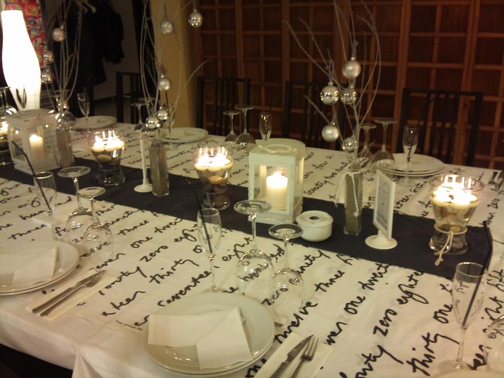 La mesa de navidad de vanessa - La mesa en navidad ...