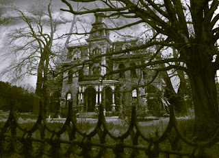 Ghost house, real haunted house, haunted house.