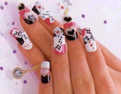Artificial Nail Art Designs