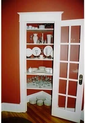 Converting a Coat Closet into a Built-In China Cabinet
