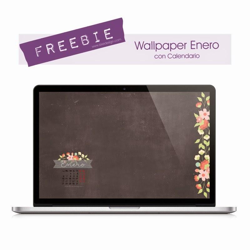 wallpaper gratis enero kireidesign