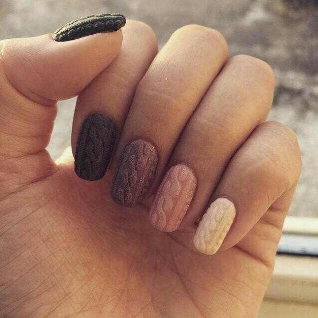 Lindas uñas decoradas   Moda y Tendencia femenina