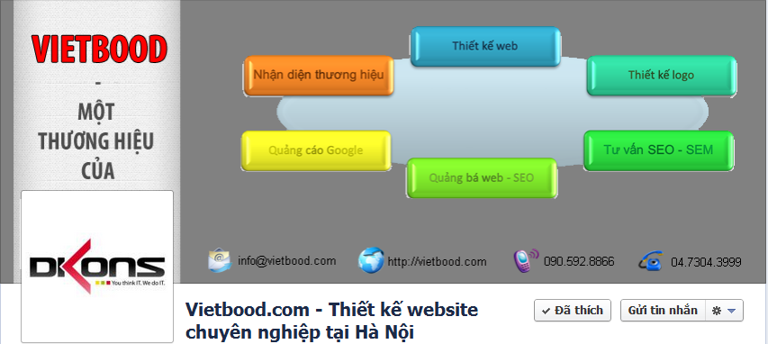 Fanpage của Vietbood.com