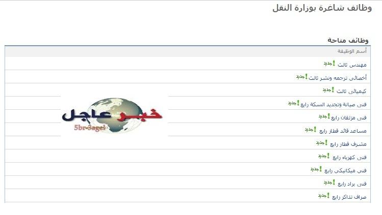 وظائف الحكومة المصرية للمؤهلات العليا والدبلومات بجميع المحافظات - التسجيل على الانترنت