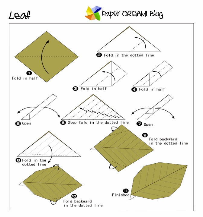 origami with leaf 28 images origami leaf decoration in