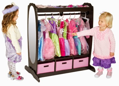 Guidecraft Dress-up Storage Solutions