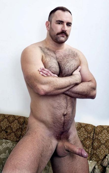Naked Hairy Hunk Men