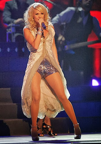 Something is. Carrie underwood is chubby really