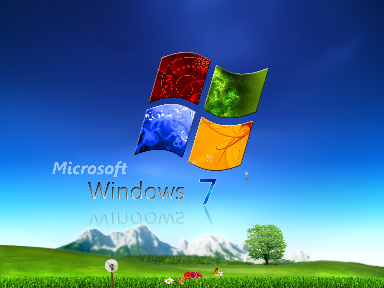 Funny Picture Clip: Cool Windows 7 RC Wallpapers & Desktop