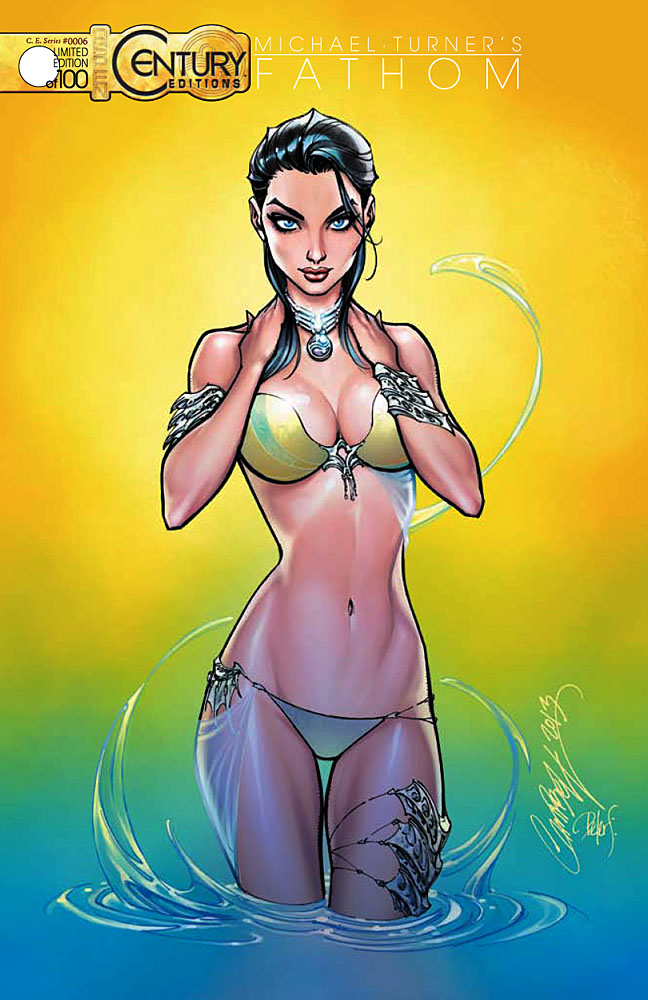 Aspen Comics Reveals All New Fathom #1 SDCC 2013 Exclusives