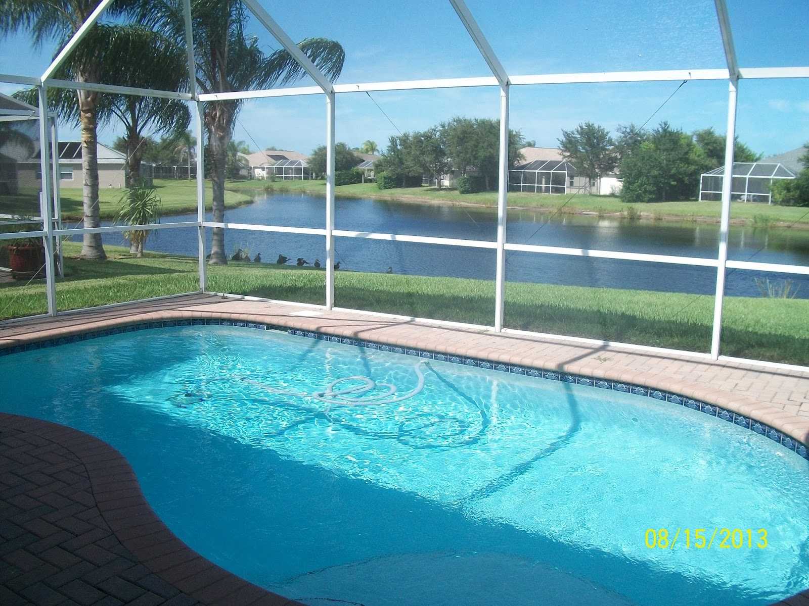 viera florida pool home for sale 200 000
