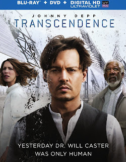 Transcendence DVD and Blu-Ray Cover