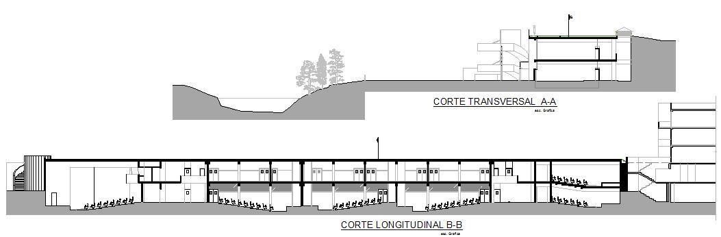 Mi moleskine arquitect nico conversando con marcello for Cortes arquitectonicos