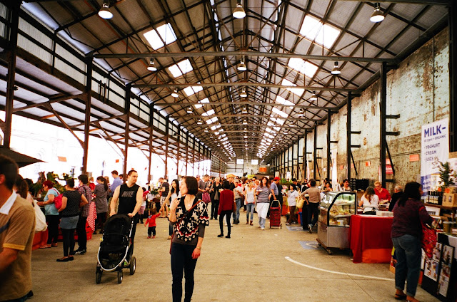 Eveleigh Farmers' Markets Carriageworks Sydney