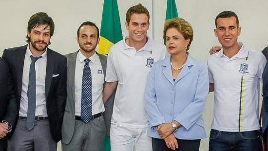 Representantes do Bom Senso FC também foram recebidos por Dilma Rousseff nesta terça-feira