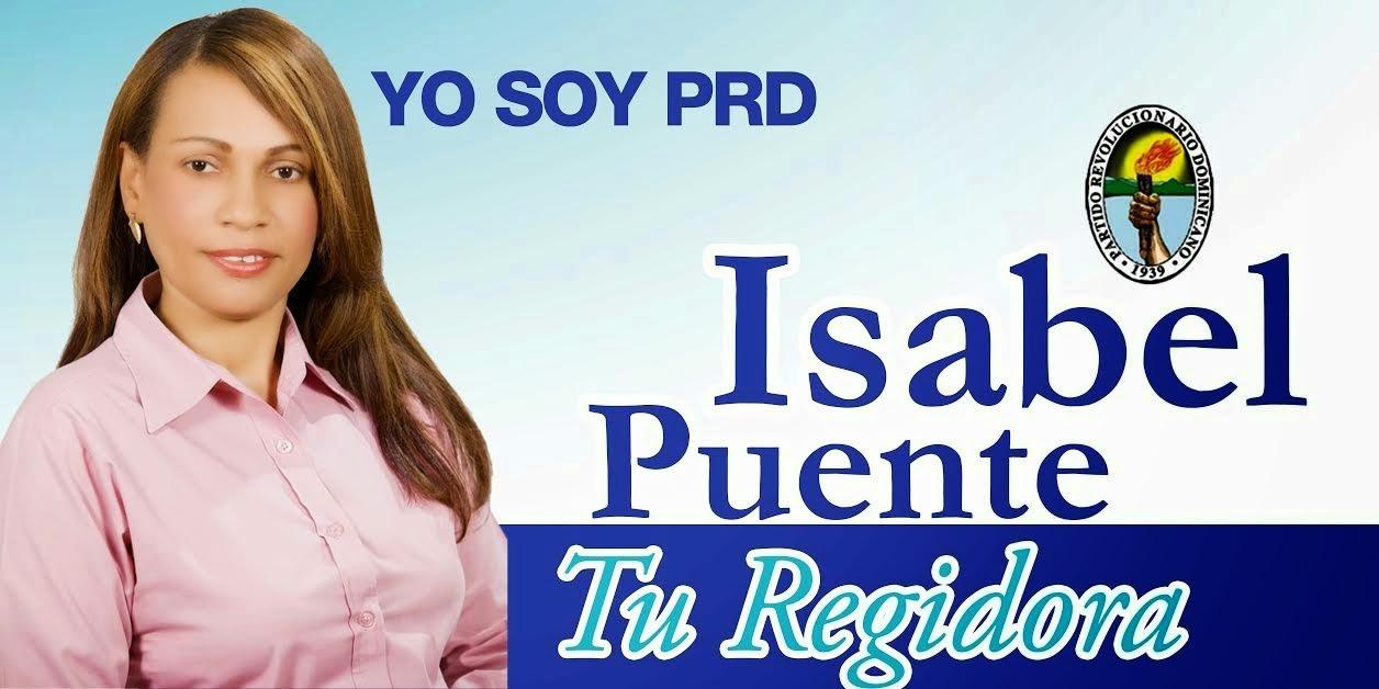 Isabel Puente, regidora PRD!