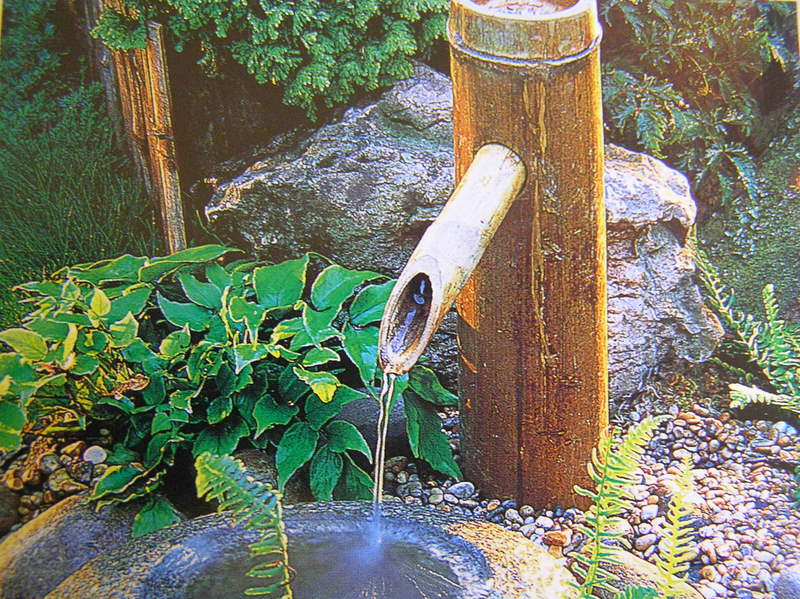 Bamboo Worktops Photos Bamboo Water Spout