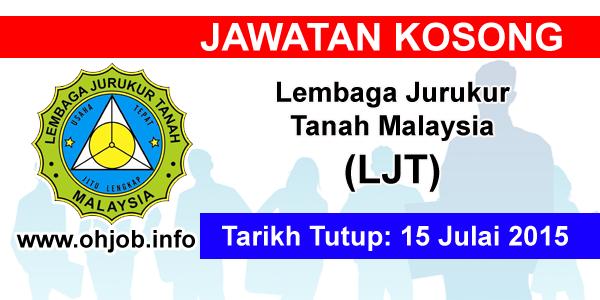Jawatan Kerja Kosong Lembaga Jurukur Tanah Malaysia (LJT) logo www.ohjob.info julai 2015