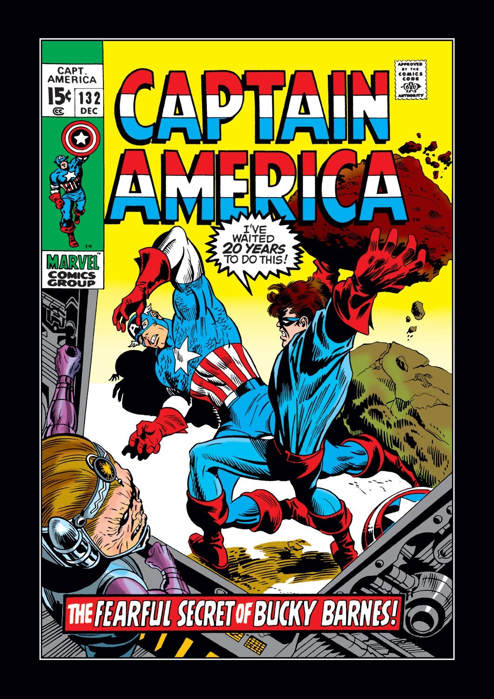 Captain America (1968) Issue #132 #46 - English 1
