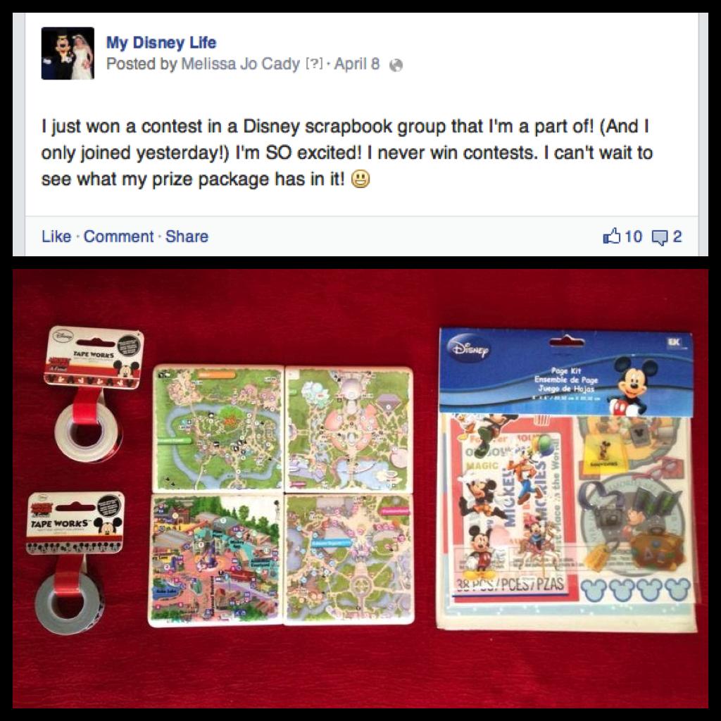 My Disney Life Disney Scrapbook Group