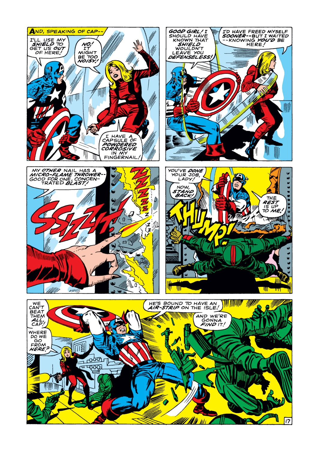 Captain America (1968) Issue #103 #17 - English 18