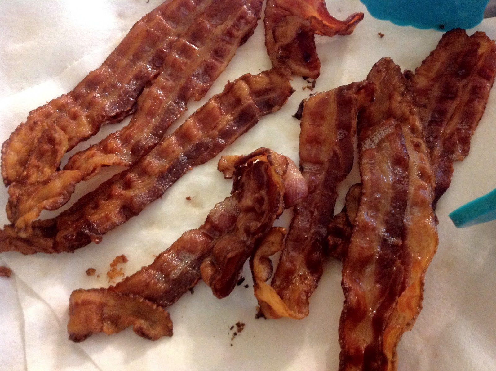 Remove The Pan From The Oven, Place The Bacon On A Paper Towel To Properly