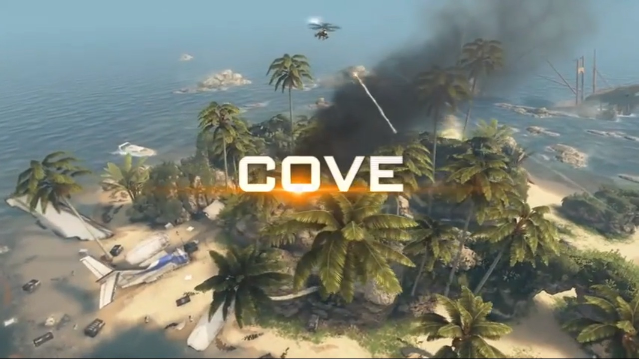 Cove is a tiny island in the