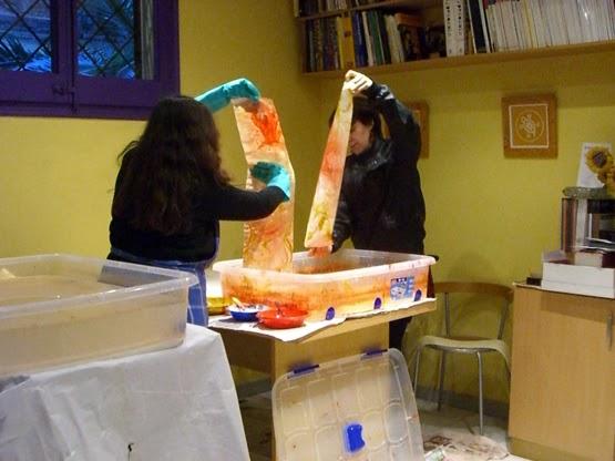 Lena Torre, Carmen Borja, paper jaspi