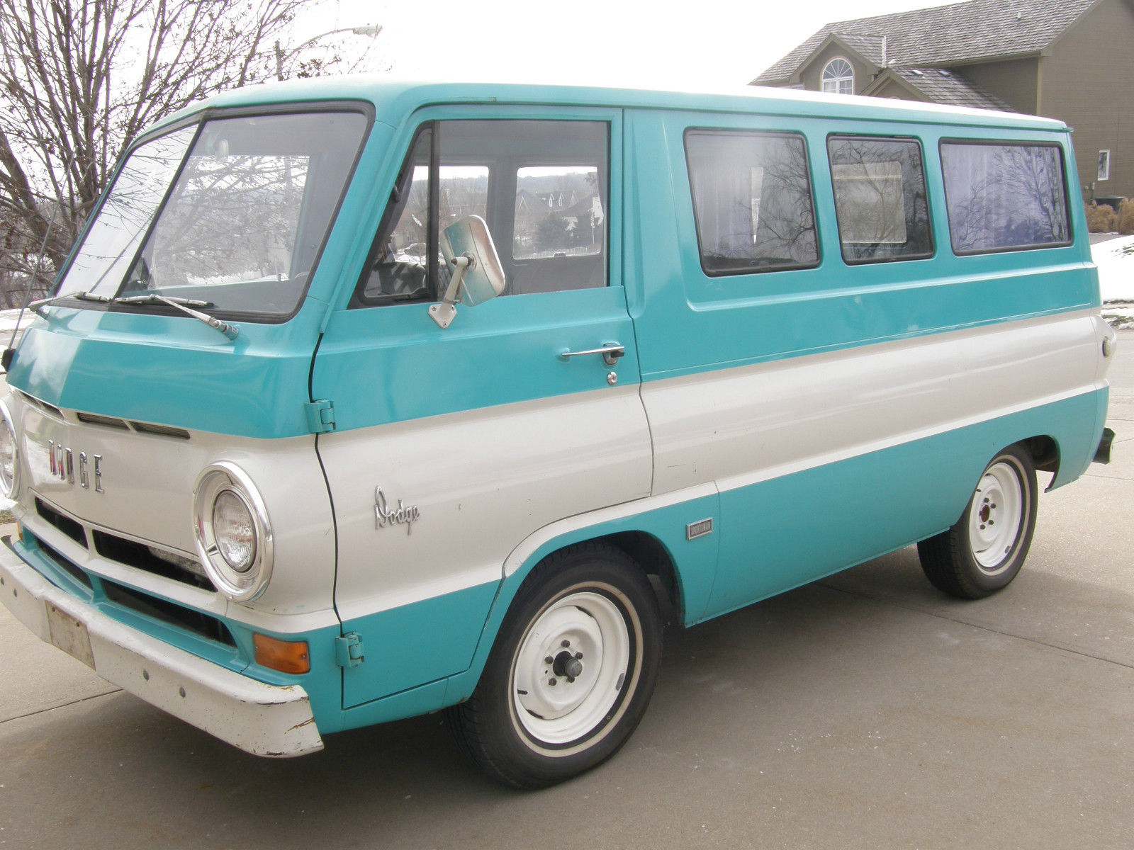 Daily Turismo Cab Over 1966 Dodge A100 Sportsman Van 1942 Coe Truck