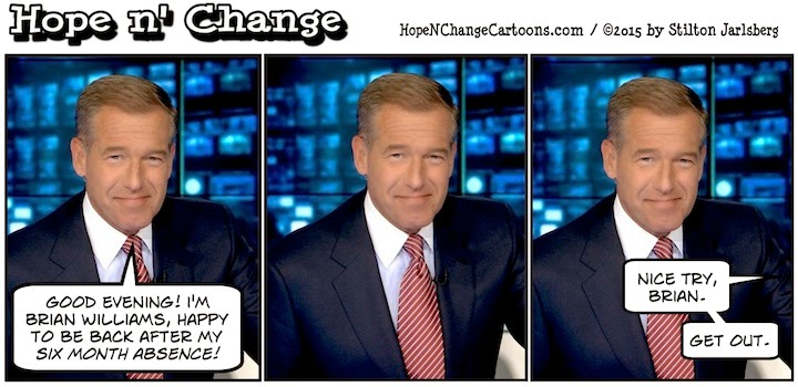 obama, obama jokes, political, humor, cartoon, conservative, hope n' change, hope and change, stilton jarlsberg, msm, brian williams, rpg