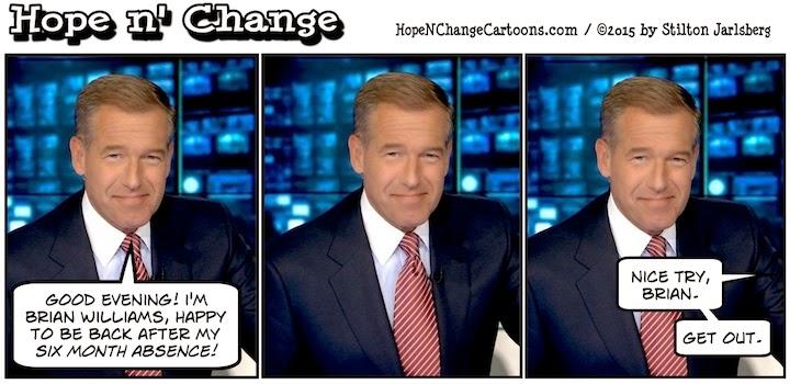 obama, obama jokes, political, humor, cartoon, conservative, hope n' change, hope and change, stilton jarlsberg, msm, brian williams, rpg