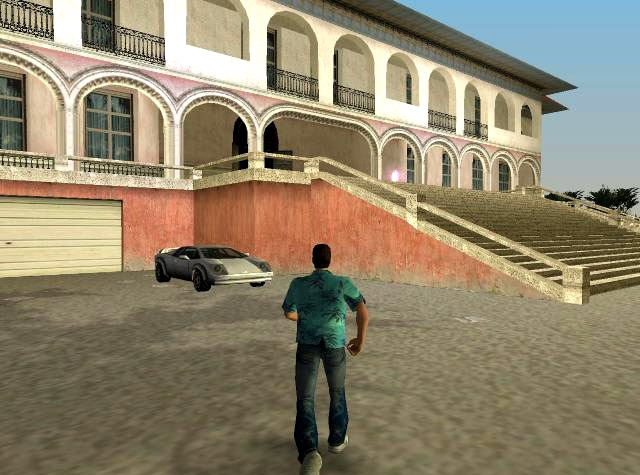 The mansion from Grand Theft Auto Vice City. LOST ENTERTAINMENT  INSIDE TONY MONTANA S MANSION FROM SCARFACE