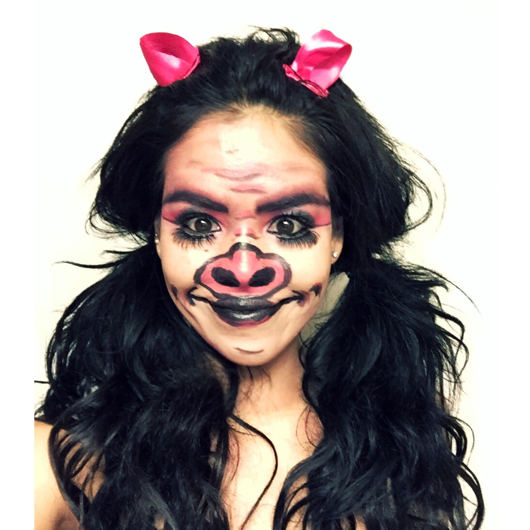 little piggy makeup