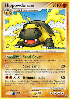 Hippowdon Pokemon Card Rising Rivals set