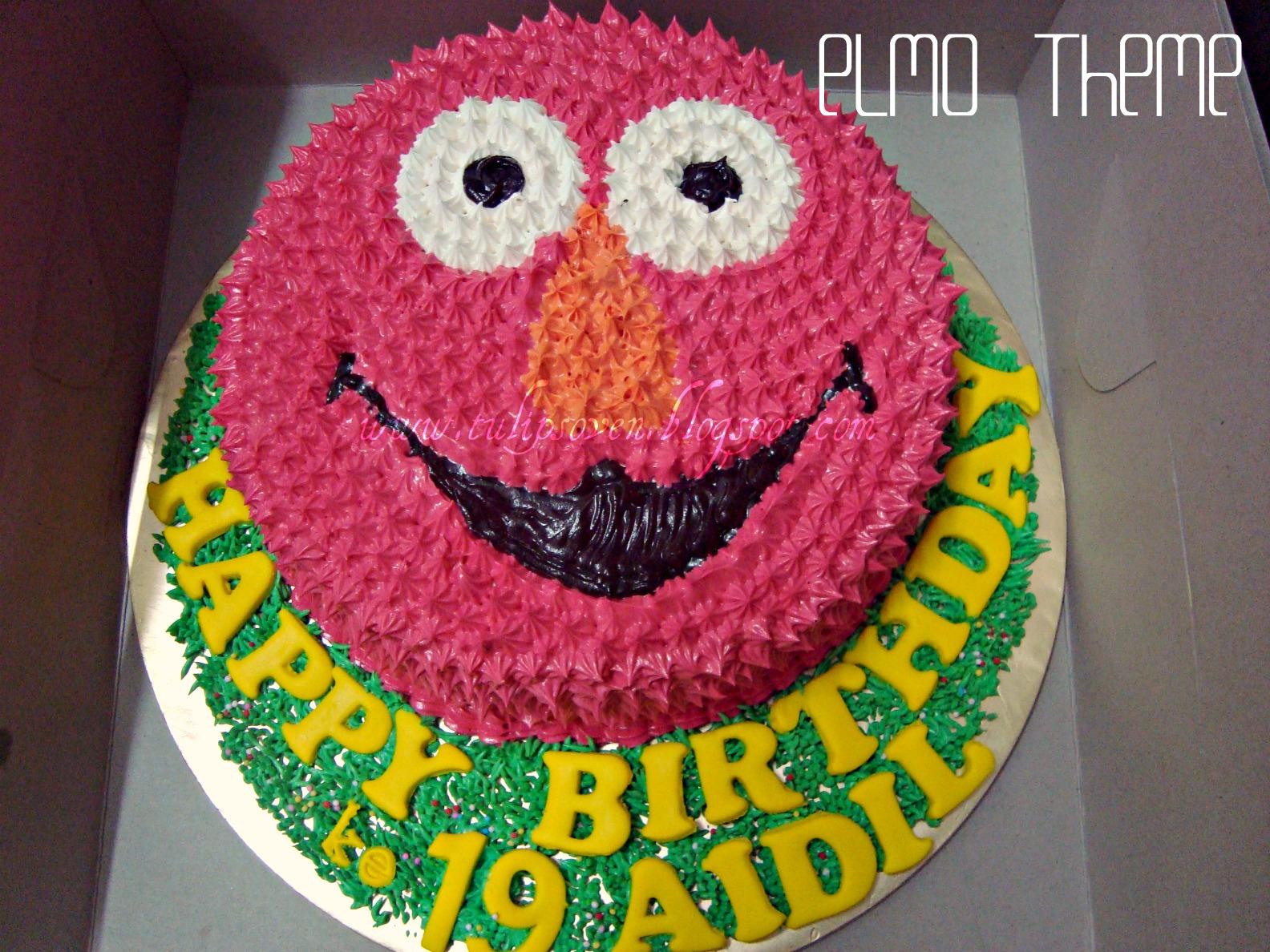 Elmo Theme BIRTHDAY CAKE