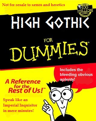 High Gothic For Dummies 5