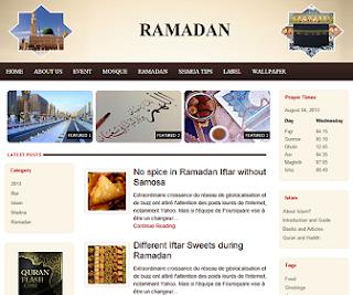 Ramadan Free Blogger Template