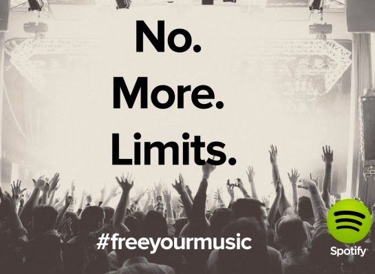 no more time limit if you are using Spotify for free