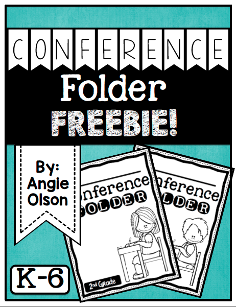http://www.teacherspayteachers.com/Product/Conference-Folder-FREEBIE-1655211